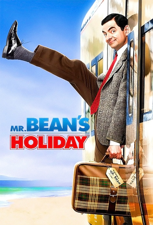 Mr Bean's Holiday Poster