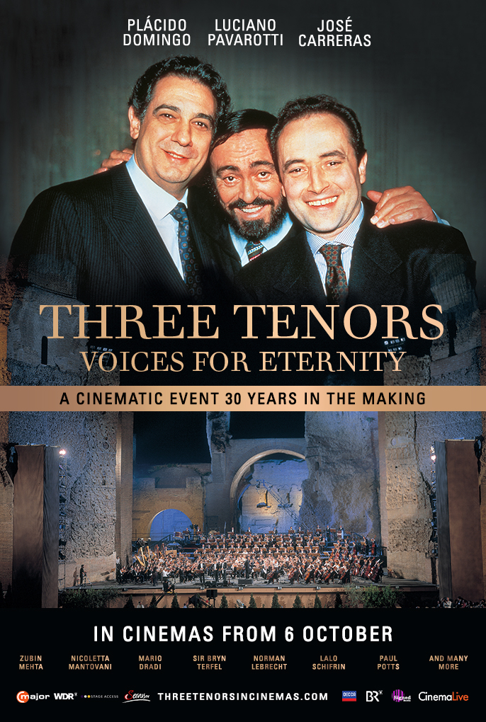 Three Tenors: Voices for Eternity Poster