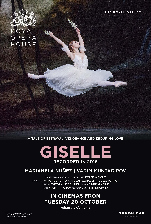 The Royal Ballet: Giselle Poster