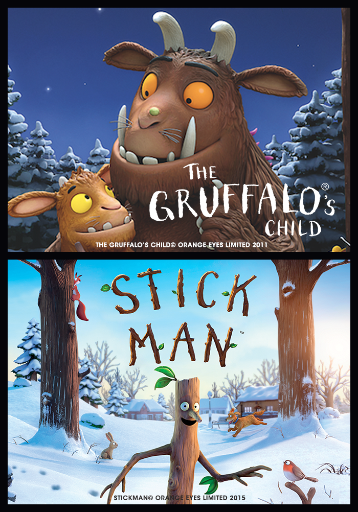 The Gruffalo's Child & Stick Man (totally tots) Poster