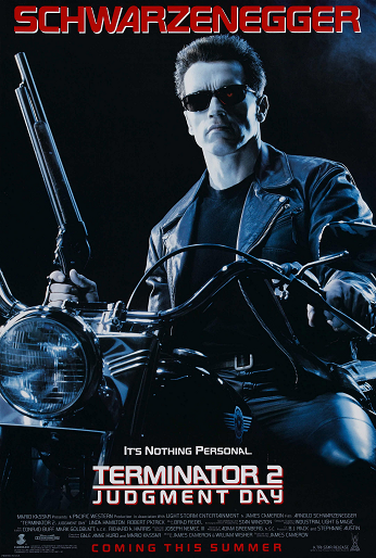 Terminator 2: Judgement Day Poster