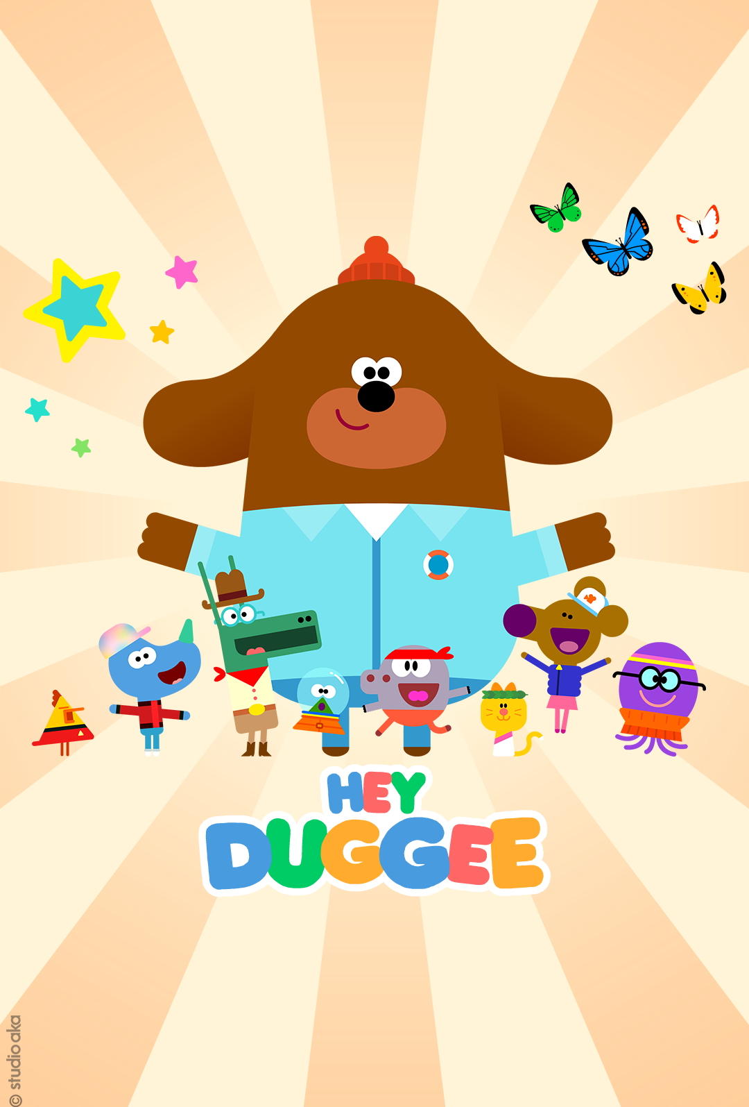 Hey Duggee at the Cinema Poster