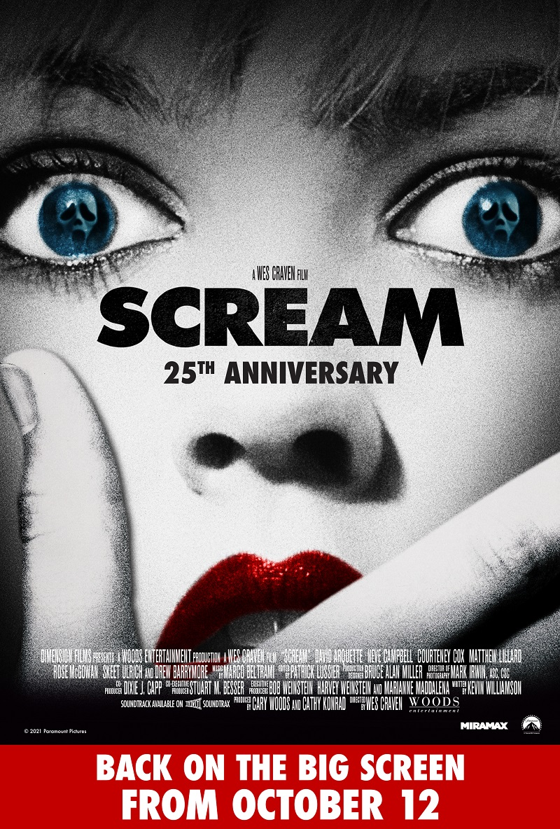 Scream - 25th Anniversary Poster