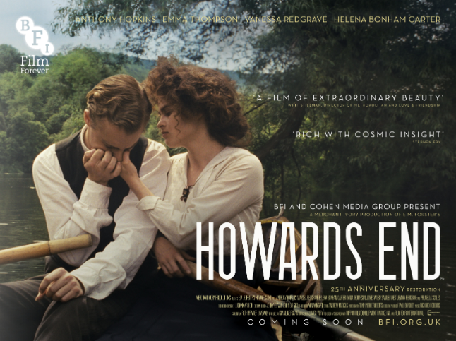 Howards End (Flashback) Film Times and Info | SHOWCASE